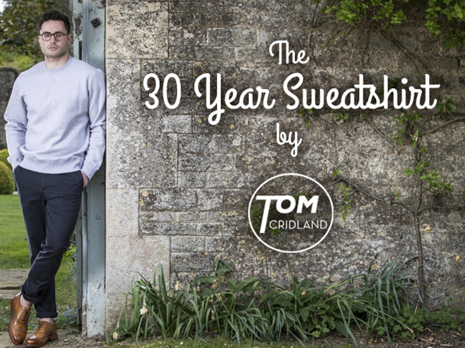 30 éves pulóver