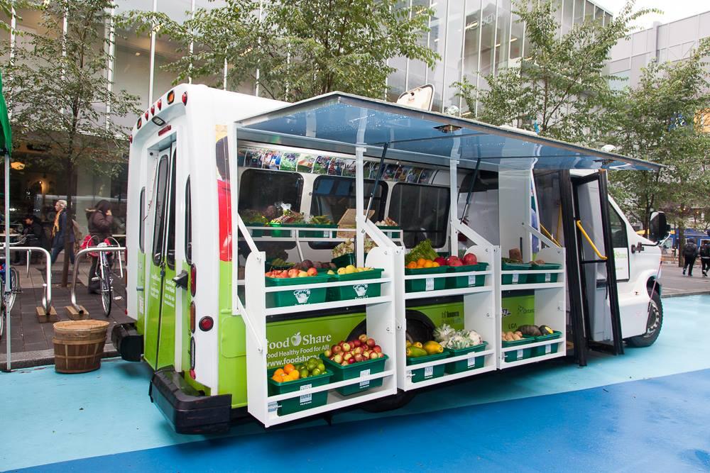 Ételmegosztó busz