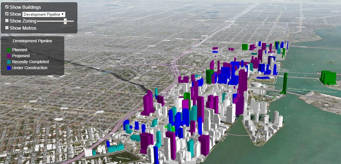 Miami térkép